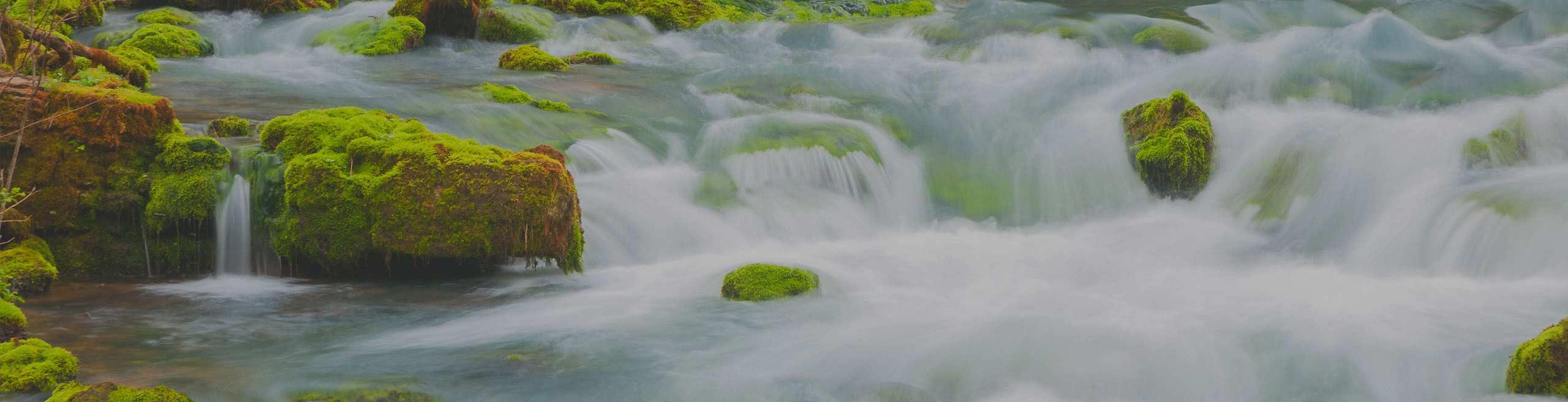 flowing river rapids